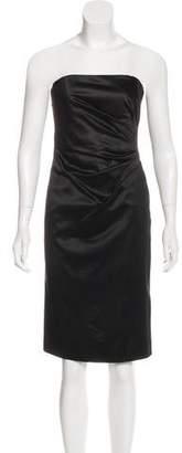 Philosophy di Alberta Ferretti Strapless Mini Dress