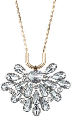 Trina Turk ANOTHER ROUND FLORAL STONE BURST PENDANT