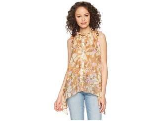 For Love & Lemons Maritza Floral Tank Tunic Women's Sleeveless