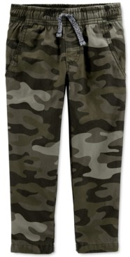 Carter's Baby Boys Jersey-Lined Camo Pants