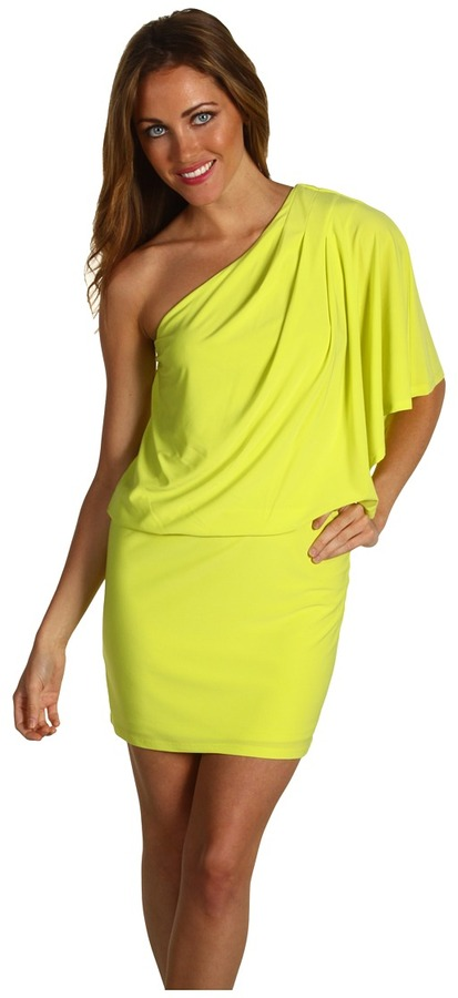 Jessica Simpson - One Shoulder Mini Dress