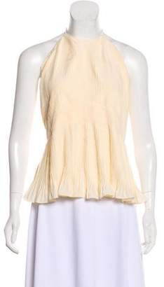 Christian Dior Pleated Halter Top