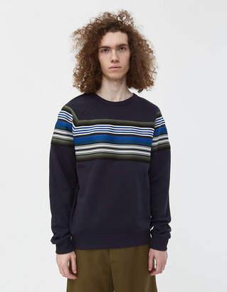 Dries Van Noten Haskins Tape Crewneck Sweatshirt