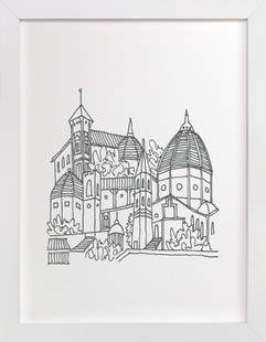 Florence Sketchbook Art Print