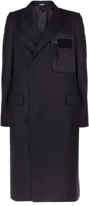 Lanvin Patch Pocket Wool Coat