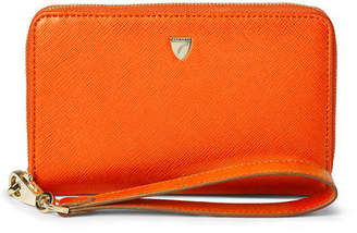 Aspinal of London Midi Continental Wallet With Wrist Strap