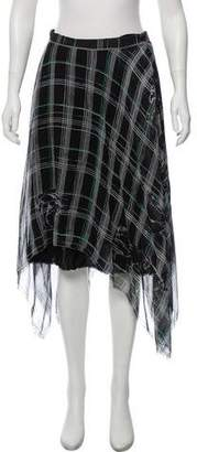 Raquel Allegra Printed Knee-Length Skirt w/ Tags