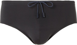 Vilebrequin Nuage Swim Briefs - Men - Black