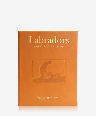 Labradors Work, Rest and Play Traditional Leather