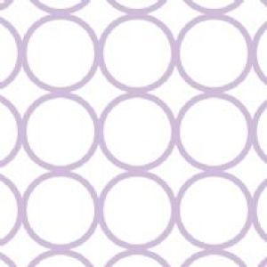 Avalisa Patterns Collection Circles Stretched Wall Art
