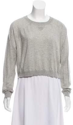 3.1 Phillip Lim Crew-Neck Cropped Sweater
