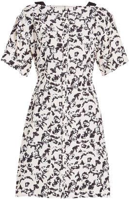 Proenza Schouler Printed Silk Cocktail Dress