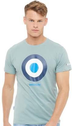 Lambretta Mens Logo T-Shirt Khaki