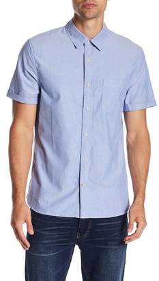 Joe's Jeans Short Sleeve Oxford Woven Regular Fit Shirt