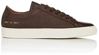 Common Projects Men's Achilles Grained Leather Sneakers