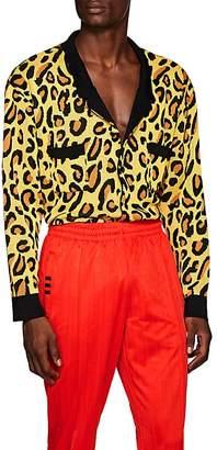 LANDLORD Men's Leopard-Print Cardigan