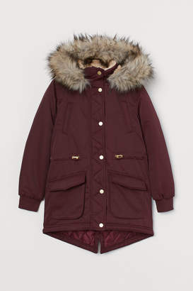 H&M Padded Parka - Red