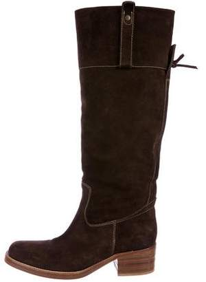 Barneys New York Barney's New York Suede Knee-High Boots