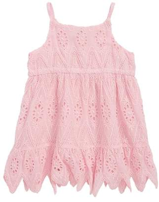 Aster Peek Eyelet Lace Dress