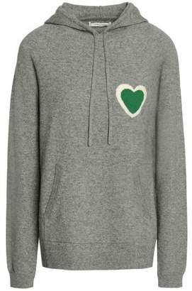 Chinti and Parker Intarsia Wool And Cashmere-Blend Hoodie