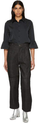 Marc Jacobs Black Tapered Jeans