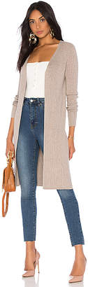525 America Ribbed Open Cardigan