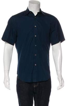 BLK DNM Woven Button-Up Shirt