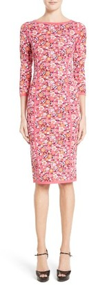 Women's Michael Kors Floral Print Sheath Dress $1,495 thestylecure.com