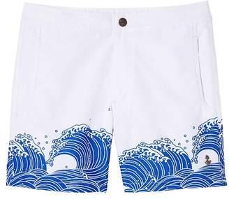 Banana Republic retromarine | Odaiba Japanese Waves Printed Swim Short