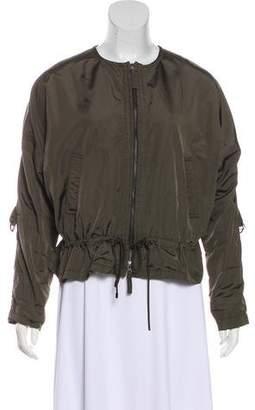 Vince Cropped Nylon Jacket