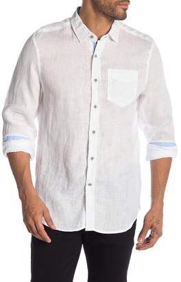 Report Collection Solid Linen Shirt