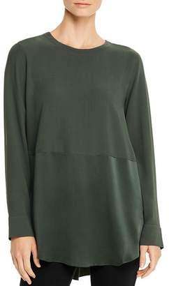 Eileen Fisher Silk Crewneck Tunic