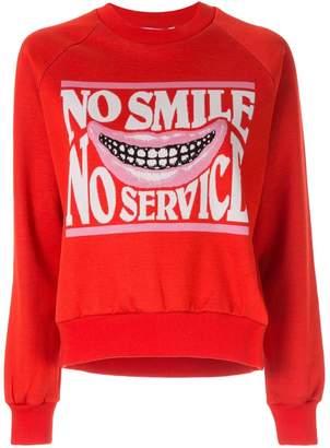 Stella McCartney No Smile No Service sweater