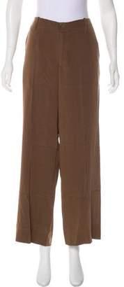 Vince Mid-Rise Silk Pants