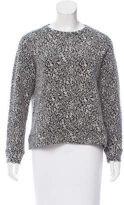 Roseanna Patterned Wool-Blend Sweater