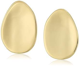 Alexis Bittar Shallow Watery Dish Post Stud Earrings