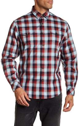 COASTAORO Redford Long Sleeve Plaid Shirt