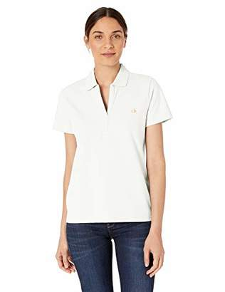 Calvin Klein Women's Short Sleeve Johnny Collar Polo