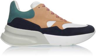 Alexander McQueen Suede Low-Top Sneakers