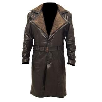 defbe09bd0f Mine Jacket Mens German WW2 Fur Long Trench Winter Coat