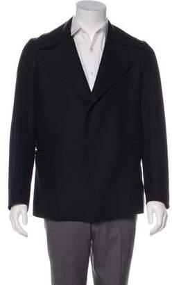 Alexander McQueen Wool & Cashmere Peacoat