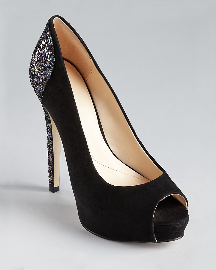 Boutique 9 Pumps - Cary Glitter Back