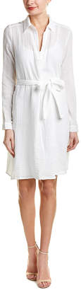Three Dots Double Gauze Shirtdress