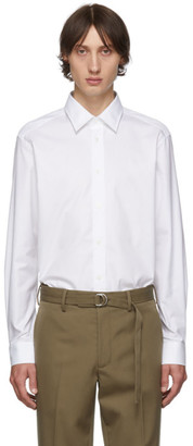 Burberry White Oxford Monogram Shirt