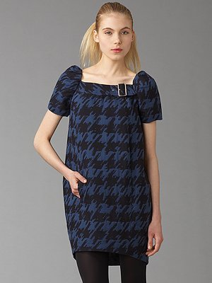 Marc by Marc Jacobs Scribble Houndstooth Dress