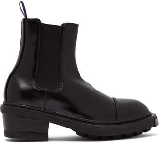 Eytys Nikita Leather Chelsea Boots - Womens - Black