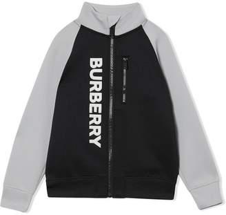 Burberry two-tone stretch sweatshirt