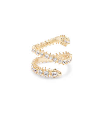 Kendra Scott Beck Band Ring in Gold