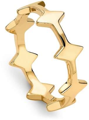 Missoma Nexus 18ct Gold Vermeil Ring