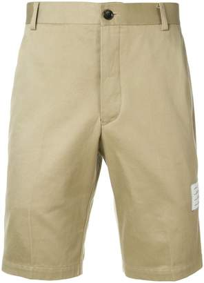 Thom Browne Cotton Twill Unconstructed Chino Shorts